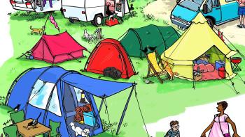 British Campsite