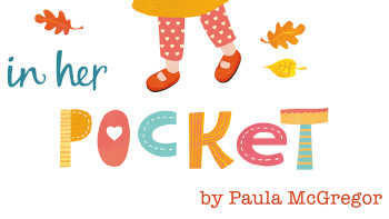 The Kiss in Her Pocket –New picture book about back-to-school jitters