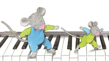Gastón Ratón y Gastoncito en el Valle de los Sonidos (Papa mouse and little mouse in the Music Valley)