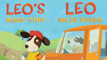 Leo's Road Trip - New board book for Children's Healthcare of Atlanta