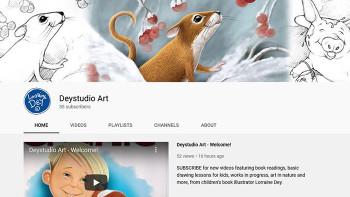 New Deystudio, LLC - Lorraine Dey YouTube Channel for Kids...