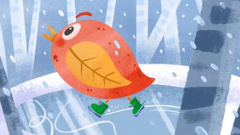 Autumn Winter Bird