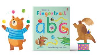 Fingertrail ABC Board book