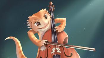 Musical Beardie