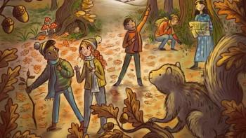 Freya Hartas - Aquila cover illustration