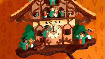 The Clock Strikes 2021: Happy New Year!
