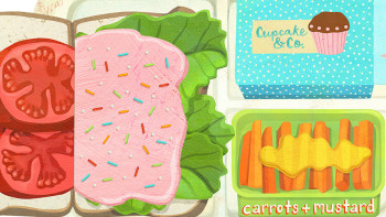 Fun new lift-the-flap book from Laura Watson celebrates gross school lunches!