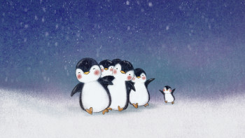 Miro the penguin and his friends