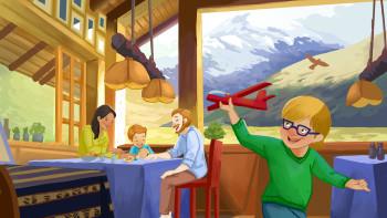 Morning in Chimborazo lodge