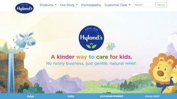 Hylands website illustration