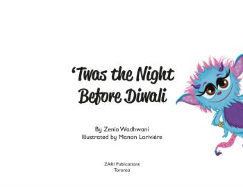 Twas the night before Diwali
