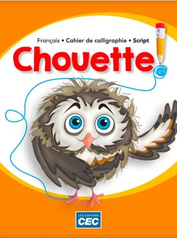 Chouette Cahier de calligraphie script