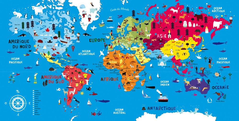 Mon atlas puzzle du monde