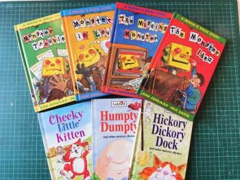 Cheeky Little Kitten, Hickory Dickory Dock, Humpty Dumpty.