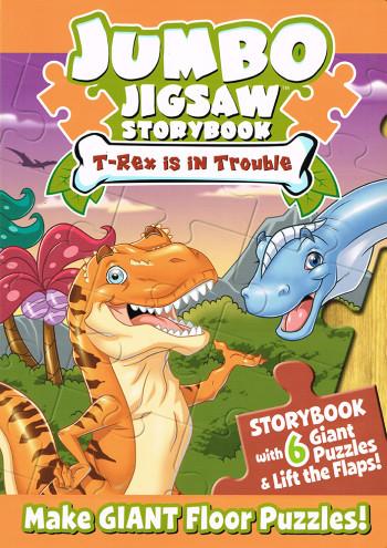 T-Rex is in Trouble (Jumbo Jigsaw Storybooks)
