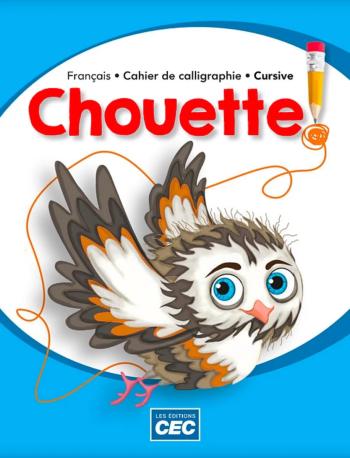 Chouette Cahier de calligraphie Cursive