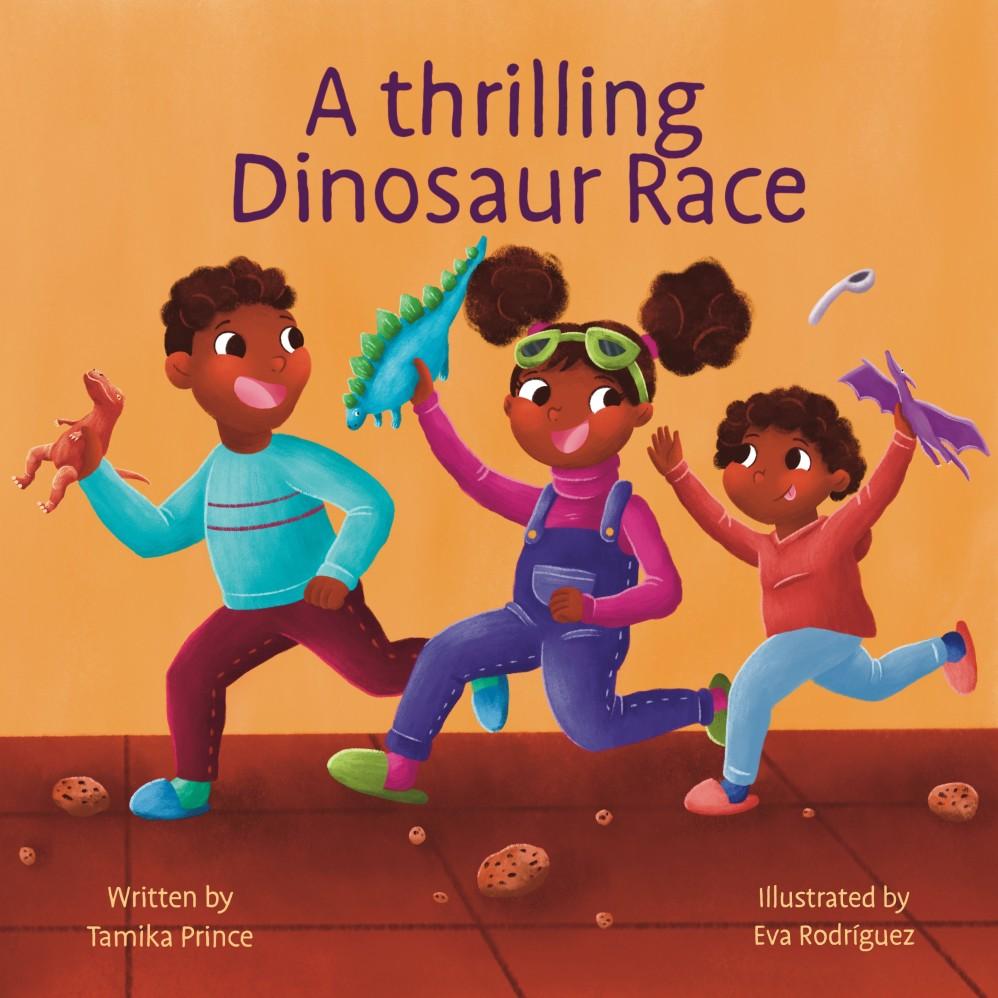 A Thrilling Dinosaur Race