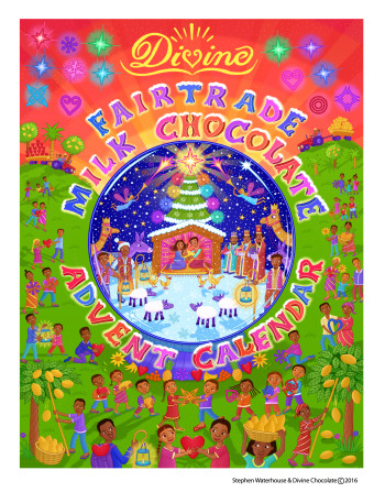 Divine Chocolate Advent Calendars