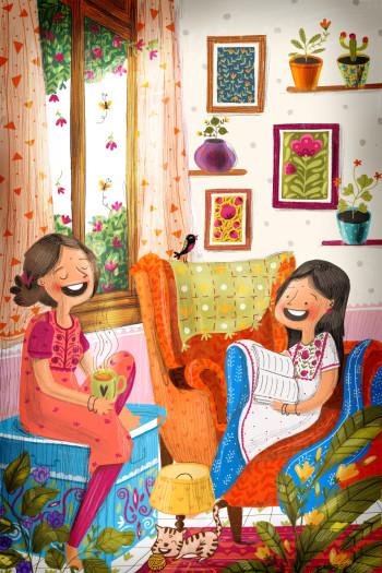 Coloured Illustrations