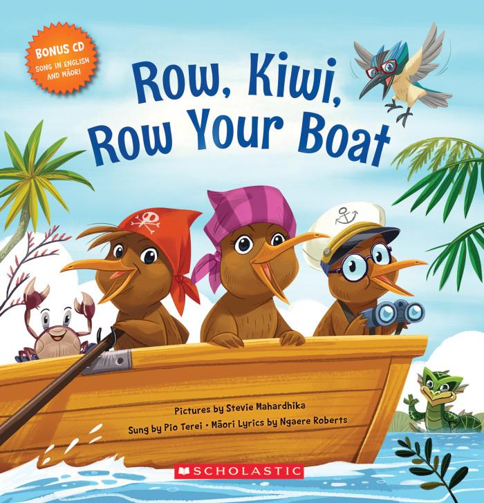 Row, Kiwi, Row Your Boat Songbook