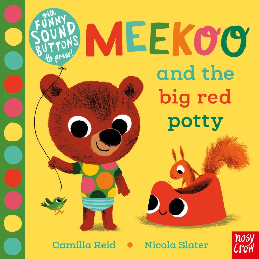 Meekoo and the big red potty