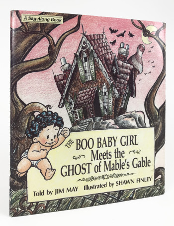 The Boo Baby Girl Meets the Ghost of Mable's Gable