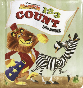 1 2 3 Count With Animals - DreamWorks