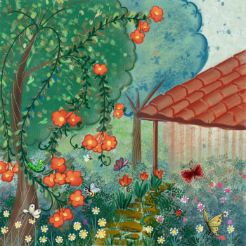 Jitna's magic explorations. tha garden